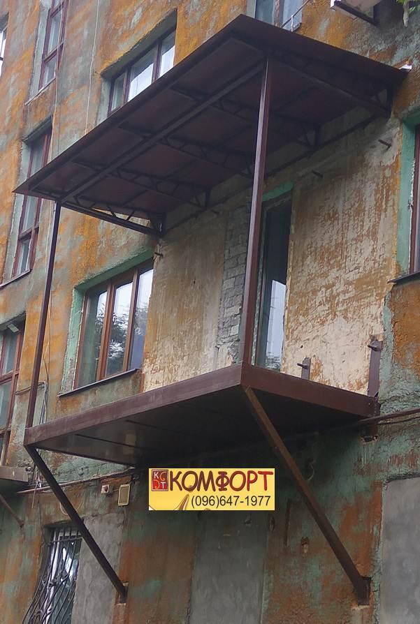 Пристроить Французский Балкон