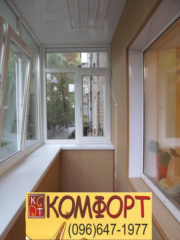 внутренняя обшивка балкона евровагонкой