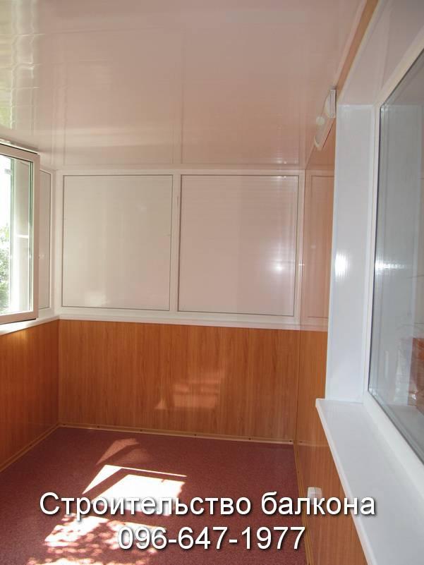обшивка балконов пластиком с утеплением