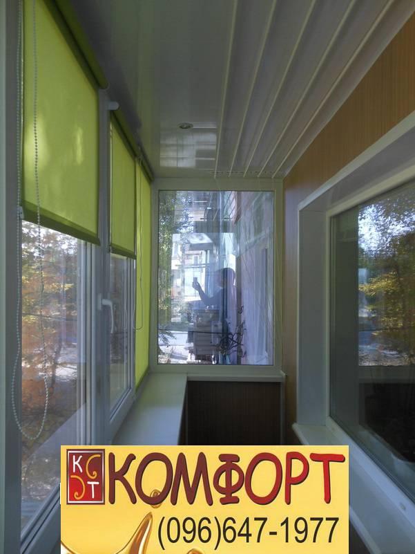 внутренняя отделка и обшивка балконов и лоджий
