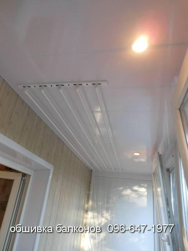 внутренняя обшивка балкона фото