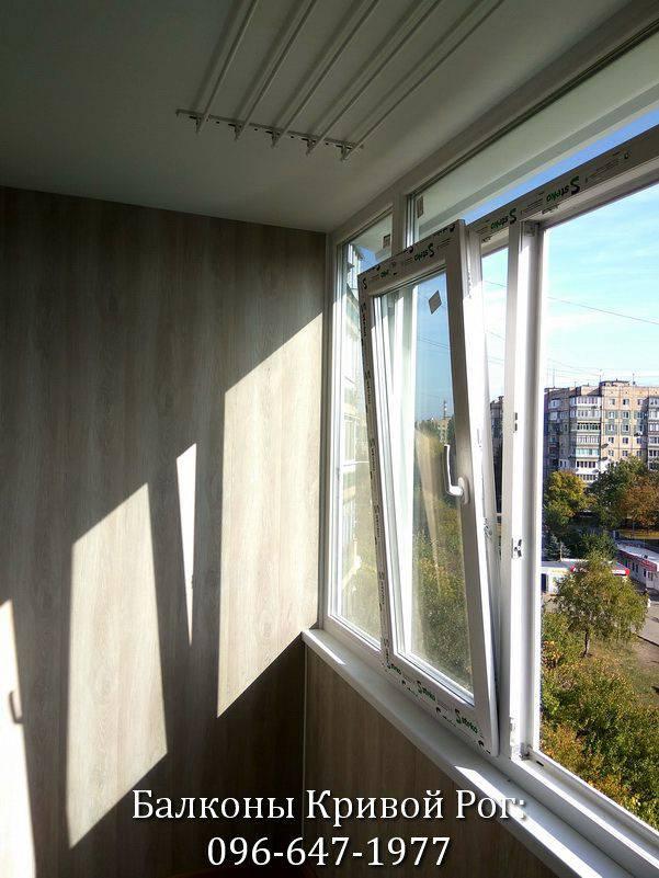внутренняя и наружная обшивка балконов
