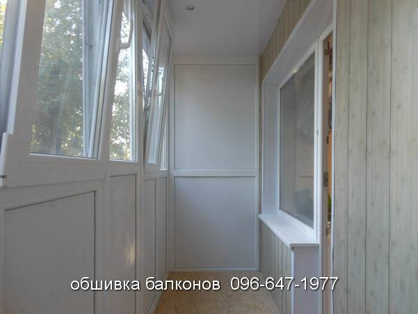 обшивка внутренняя балконов