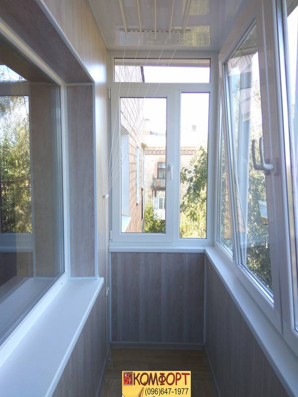 пластик на обшивку балкона