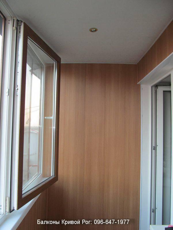 обшивка балкона снаружи пластиком видео