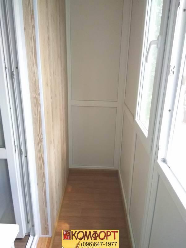 какой материал нужен для обшивки балкона пластиком