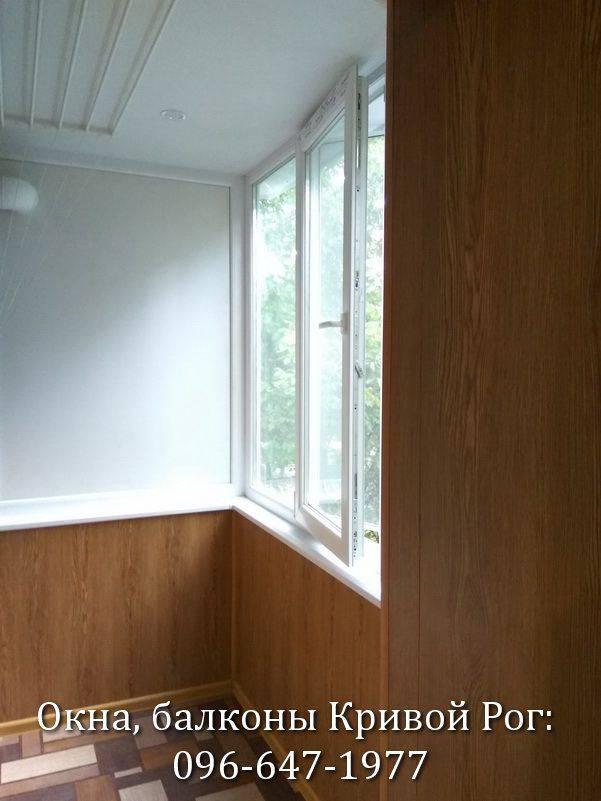 обшивка балконов внутри пластиком фото