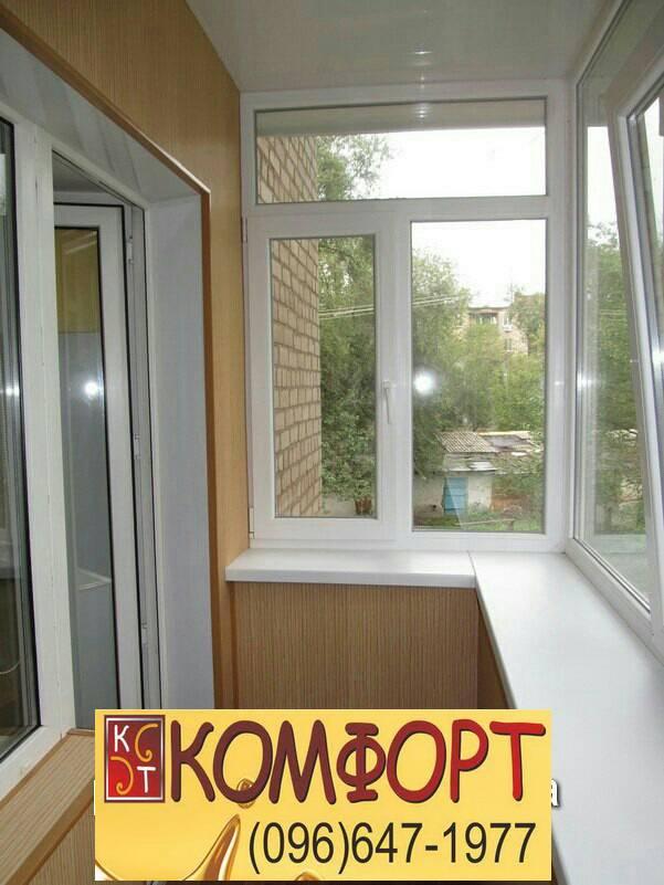 пластик для наружной обшивки балкона