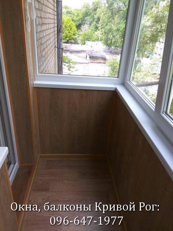 внутренняя обшивка балкона видео