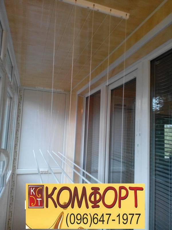обшивка балкона панелями из пластика