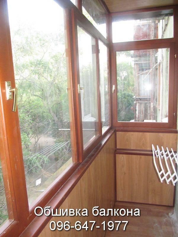внутренняя обшивка балкона цена