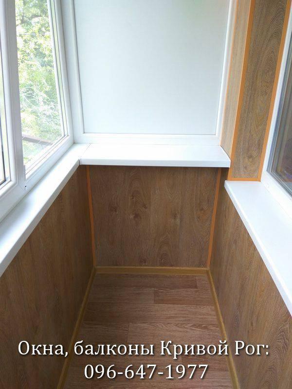 обшивка балкона своими руками пластиком