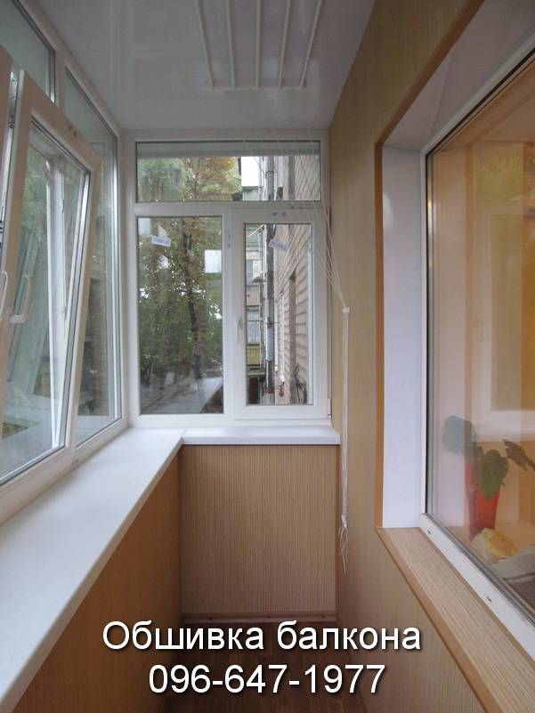 балконы обшивка пластиком фото