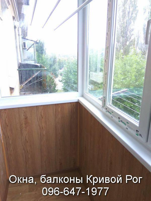 внутренняя обшивка балкона вагонкой цена