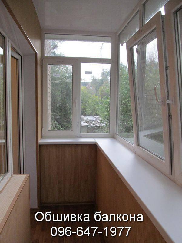 балконы внутренняя обшивка фото