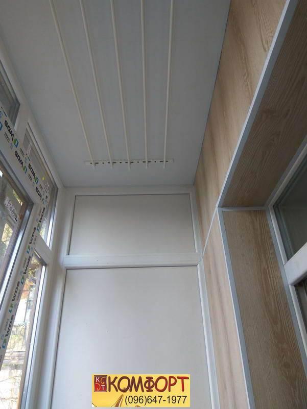 балкон обшивка пластиком своими руками видео