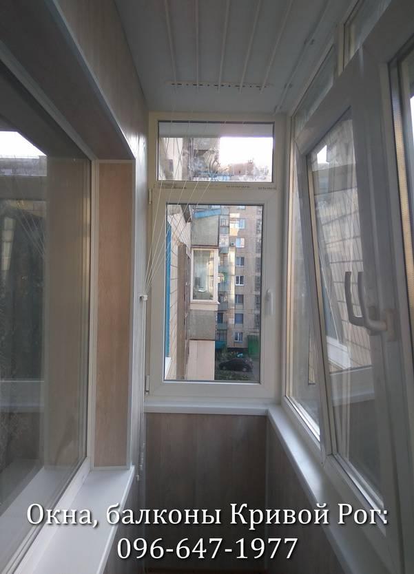 внутренняя обшивка балконов пластиком
