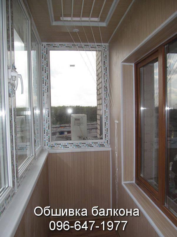 протечка балкона после остекления и внутренней обшивки фото