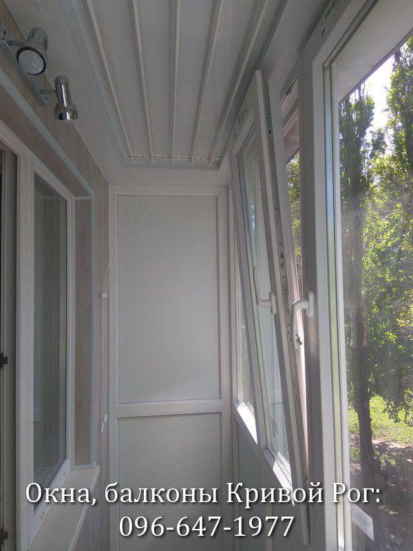 внутренняя обшивка балконов самому